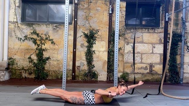 12m | Bodyweight | Core (w/ Cynthia)