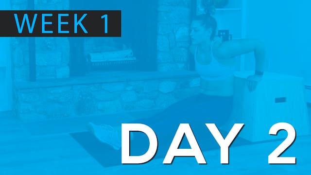 Week 1 | Day 2 | Bodyweight