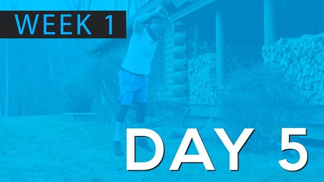 Week 1 | Day 5 | Bodyweight