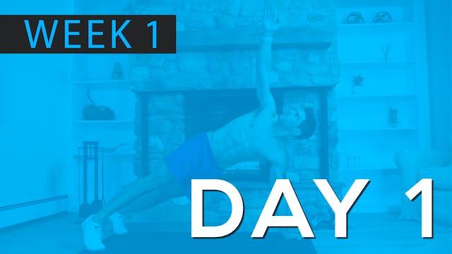 Week 1   Day 1   Bodyweight