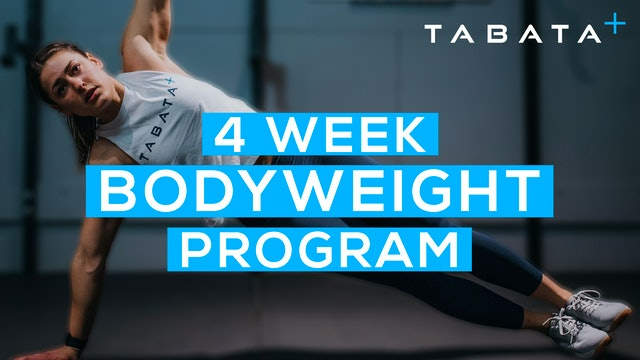Intro to the 4-WEEK BODYWEIGHT WORKOUT PROGRAM