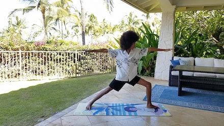 Tabay Atkins Yoga / Vegan Cooking Series Video