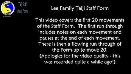 Tai Chi and Qigong Video