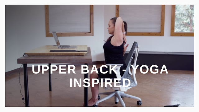 Office 6 - Upper Back Yoga