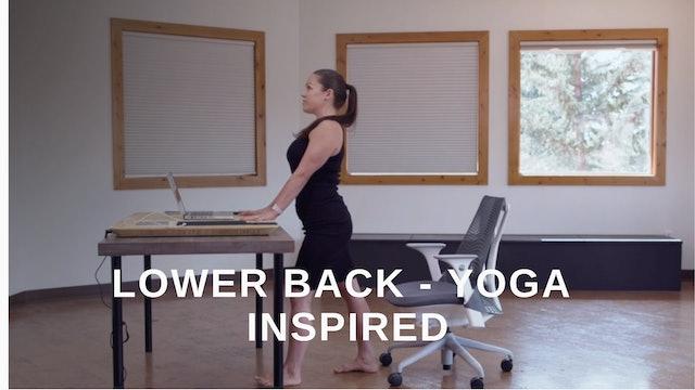 Office 10 - Lower Back Yoga