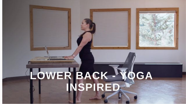 Office 10 - Lower Back Yoga