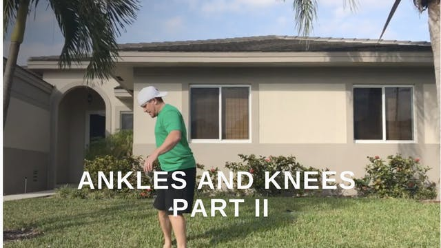 At Home 13 - The knees and Ankles Par...