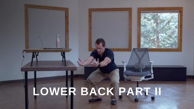 Office 15 -  Lower Back Part II