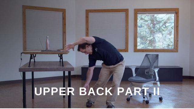 Office 18 - Upper Back Part II