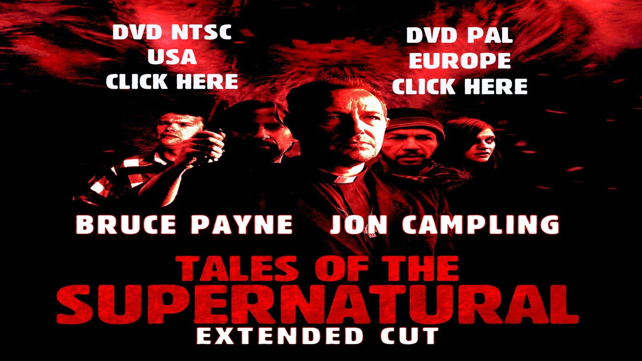 Tales Of The Supernatural Extended Cut DVD [PAL]