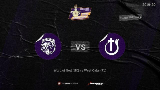 Word of God Christian Raleigh, NC vs West Oaks Academy Orlando, FL