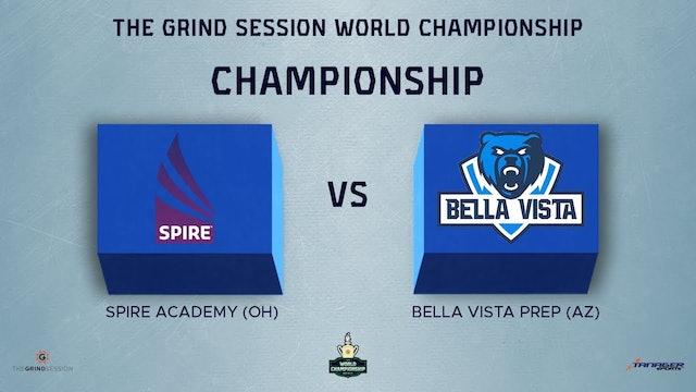 Spire Academy Geneva, OH vs Bella Vista Prep Glendale, AZ
