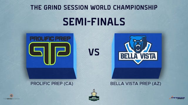 Prolific Prep Napa, CA vs Bella Vista...