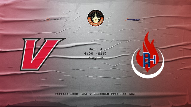 Veritas (girls) vs PHH Red (girls)