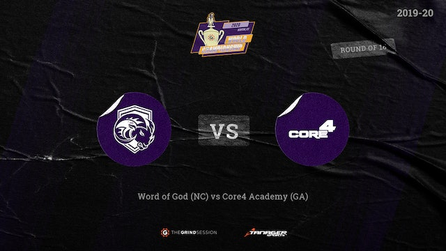 Word of God Christian Academy Raleigh, NC vs Core 4 Academy Atlanta, GA