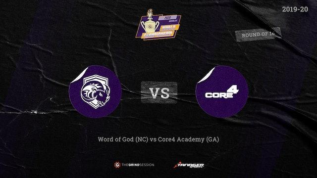 Word of God Christian Academy Raleigh, NC vs Core 4 Academy Atlanta, GA