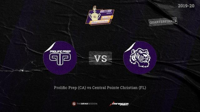 Prolific Prep Napa, CA vs Central Pointe Christian Academy, Kissimmee, FL