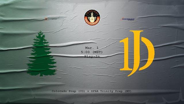 Colorado Prep vs SFBA Trinity Prep