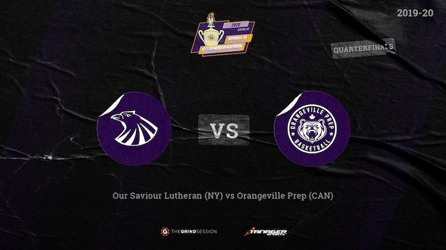 Our Saviour Lutheran Bronx, NY vs Orangeville Prep Mono, ON, Canada