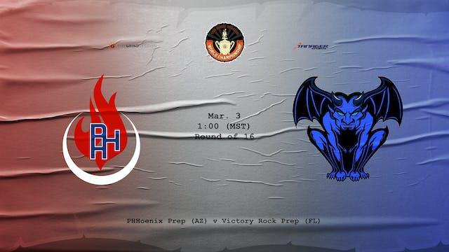 Phhoenix Prep vs Victory Rock