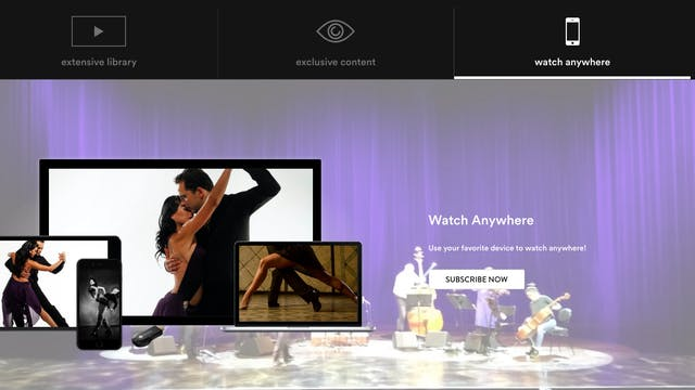 Tango Argentino Bailable Subscription all episodes