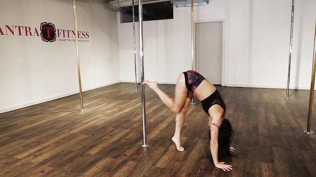 Handstand Split with Natasha Wang