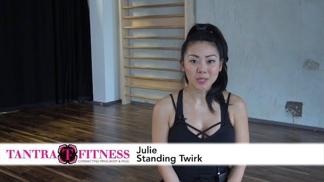 Julie - Standing Twerk