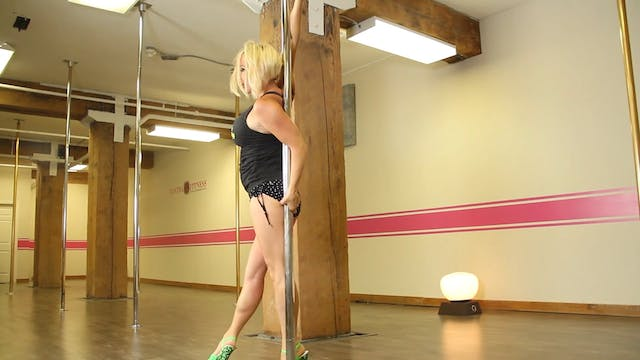 Intermediate Advanced Pole Combo - Su...