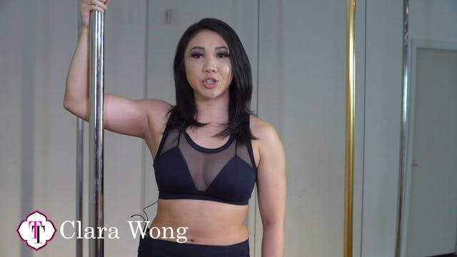 Advanced Exotic Pole Routine with Clara