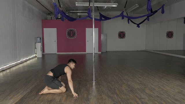 Lyrical Pole  Routine with Nick Mui