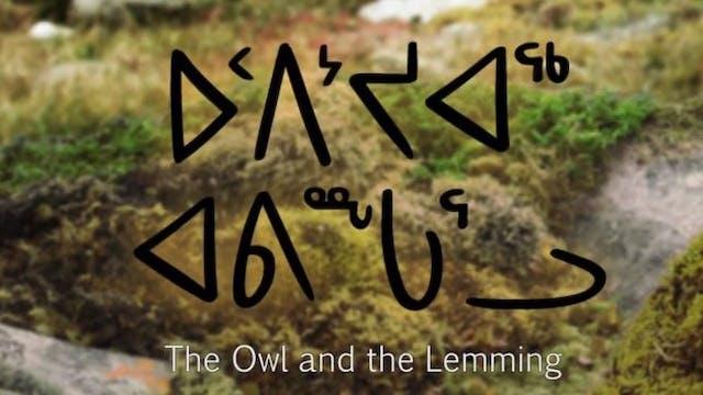 ᐅᑉᐱᔾᔪᐊᖅ ᐊᕕᖖᒐᕐᓗ •  The Owl and the Lem...