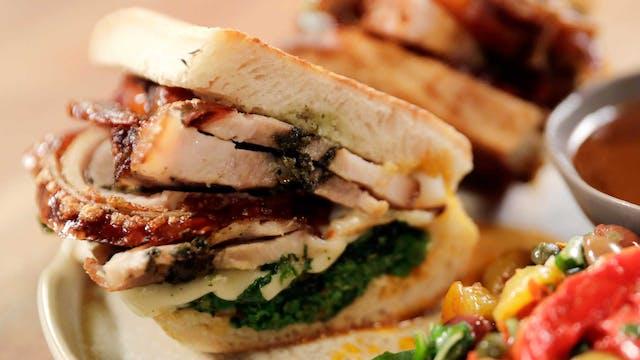 The Italian Street Sandwich