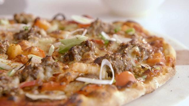 Black Sesame Scones and Bulgogi Pizza