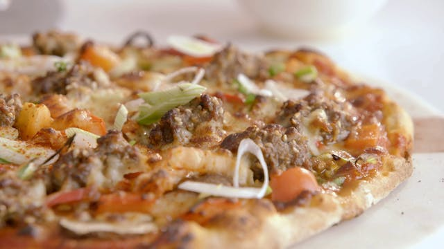 Black Sesame Scones and Bulgogi Pizza