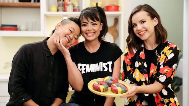 Jasmine & Sharky's Rainbow Donuts