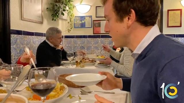 Episodio 36: Día de museo y cocido para Román.