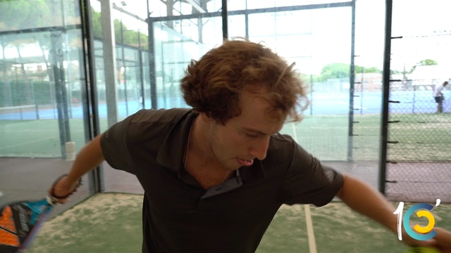 Episodio 8: Román empuña la raqueta