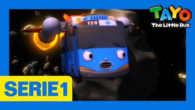 Tayo El Pequeño Bus la Serie 1 EP21 - Tayo y el Espacio
