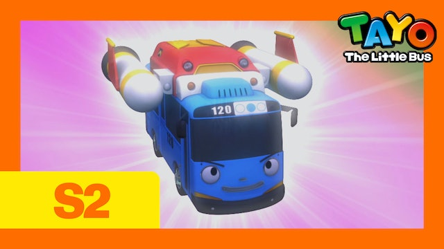 Tayo the Little Bus S2 EP17 - Tayo's Space Adventure (Part1)