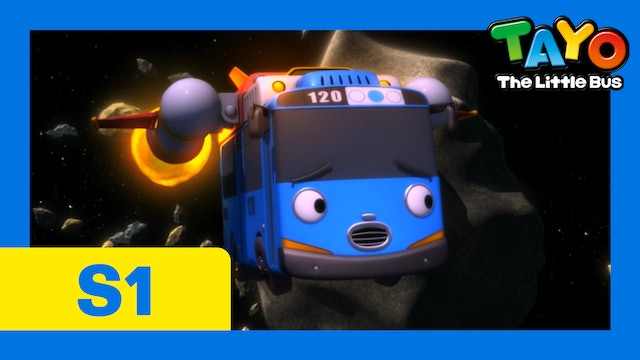Tayo the Little Bus S1 EP21 - Tayo's space adventure