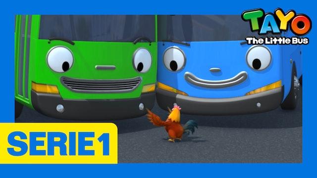 Tayo El Pequeño Bus la Serie 1 EP7 - Vamos a llevarnos bien