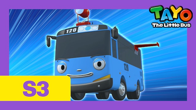 Tayo the Little Bus S3 EP16 - City heroes, Tayo and Duri
