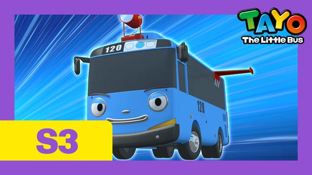 Tayo the Little Bus S3 EP16 - City he...
