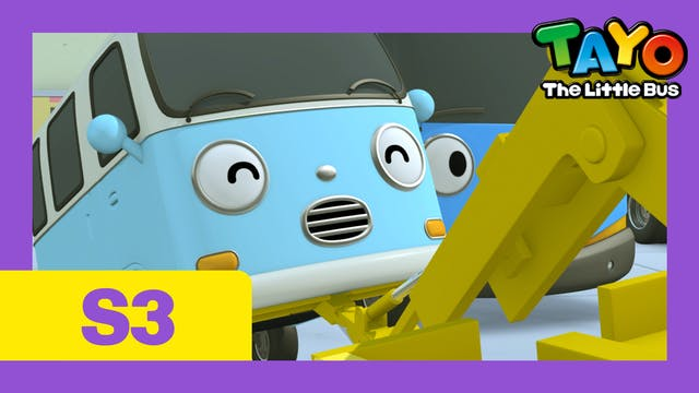 Tayo the Little Bus S3 EP10 - Toto an...