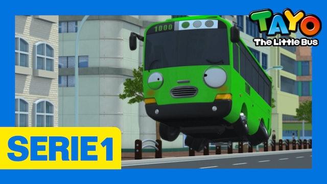 Tayo El Pequeño Bus la Serie 1 EP14 - Rogi tiene hipo