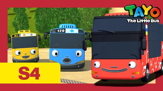 Tayo the Little Bus S4 EP19 - Cito's secret playground