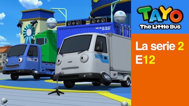 Tayo El Pequeño Bus la Serie 2 EP12 - El Líder del Patio