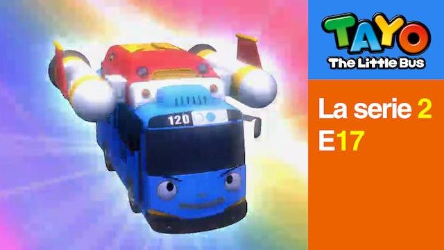 Tayo El Pequeño Bus la Serie 2 EP17 - La aventura espacial de Tayo - Parte 1