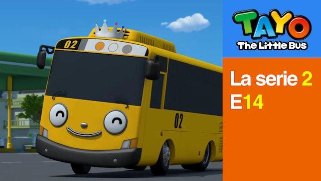 Tayo El Pequeño Bus la Serie 2 EP14 -  Lany la Princesa