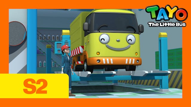 Tayo the Little Bus S2 EP6 - A New Pl...